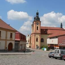 Kostel sv. Jana Nepomuckého v Nepomuku