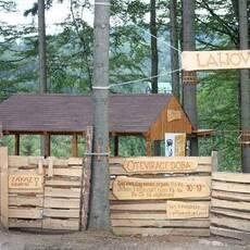 Lanový park Deštné v Orlických horách