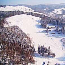 Ski areál Hartman v Olešnici v Orlických horách