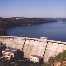 Vranovská přehrada - vodní dílo