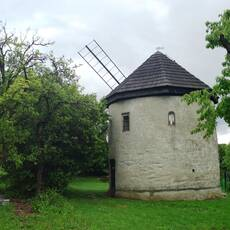 Štípa - větrný mlýn u Zlína