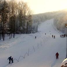 Ski areál Červený kámen u Kopřivnice