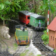 Dětská zahradní železnice Brno