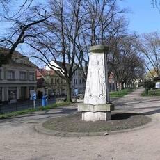 Lysá nad Labem - náměstí Bedřicha Hrozného