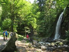 Vodopád v Terčině údolí