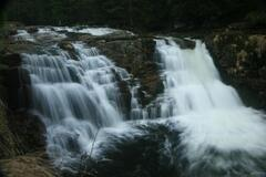 Dolní vodopád na Bílém Labi
