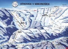 Ski areál ALDROV - Vítkovice v Krkonoších