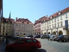 Praha - procházka Senátem