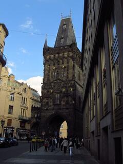 Prašná brána v Praze