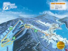 Ski areál Lipno