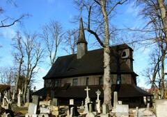 Dřevěný kostel v Broumově