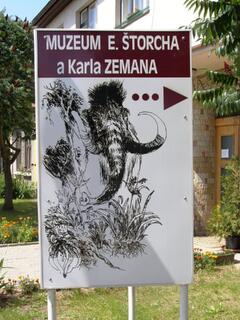 Ostroměř - muzeum Eduarda Štorcha a Karla Zemana
