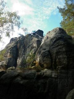 Samuelova jeskyně Sloup v Čechách