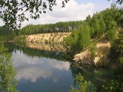 Zatopený lom Horní Cerekev