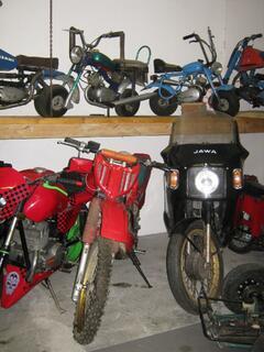 Muzeum historických vozidel JAWA Rabakov