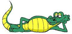 Krokodýlek-výšivky na přání