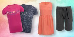 Dětské oblečení Alpine Pro: šaty, trička i kalhoty