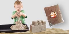Kinetický písek: hračka do každého počasí