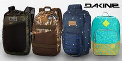Značkové batohy, tašky a kufry Dakine: 26 druhů