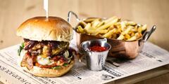 Burger dle výběru: s tvarůžky i portobellem