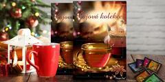 2 adventní kalendáře s různými druhy čajů