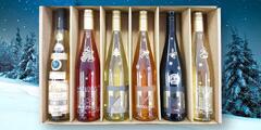 Vánoční sety moravských vín v dárkovém balení