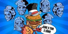 Nekašleme na vás: jídlo pro hrdiny první linie