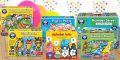 Vzdělávací deskové hry pro děti už od 2 let