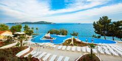 Apartmány pro 2–6 osob v parádním resortu u Splitu