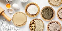 Bezlepkové mouky a droždí pro zdravé pečení