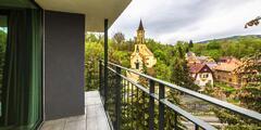 Karlovy Vary: snídaně nebo polopenze i wellness