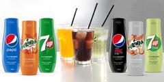 Sirupy SodaStream na 9 l nápoje: Pepsi, 7UP, Mirinda