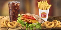 Voucher na 1 + 1 menu zdarma v Burger Kingu