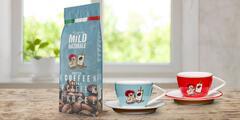 1 kg italské zrnkové kávy Blend Raffaello Mild