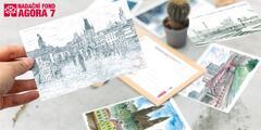 Podpořte kreativní seniory: pohledy s jejich tvorbou