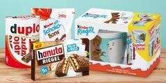 Kinder a Ferrero mlsy: tyčinky, dortíky i bonbony