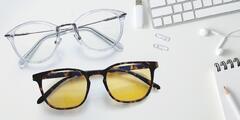 Brýle proti modrému světlu i pouzdra, co je ochrání