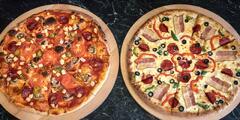 Křupavá pizza o průměru 32–40 cm dle výběru