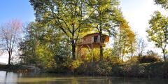Český ráj: domek na stromě až pro 4 osoby