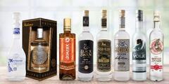 Vodky z Běloruska a Moldavska: čisté i s příchutí