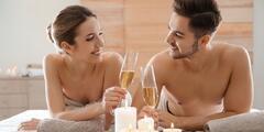 80min. luxusní relax pro dva s thajskou masáží, oxygenoterapií i sektem