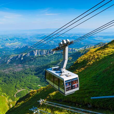 Lanovka na Kasprov vrch