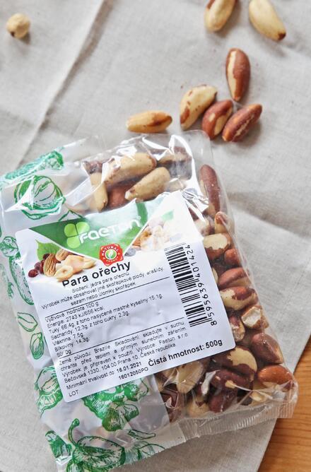 Para ořechy jsou výživné a plné vitamínů.