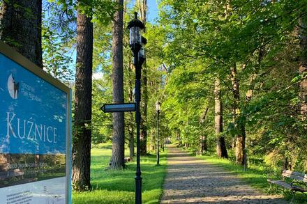 Nenechte si ujít oblast Kuźnice. Jedná se o starodávnou hornickou osadu, která stávala na úpatí hor a kde se těžila železná ruda. Foto: Honza Jochec