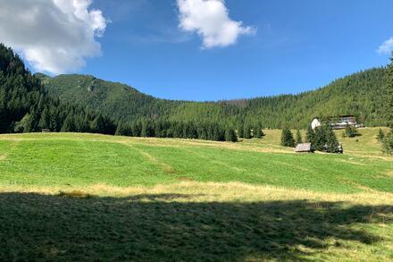 I krajina kolem Kuźnic je úchvatná. Foto: Honza Jochec