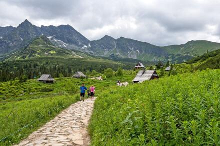 Cestou na Kasprowy Wierch půjdete přes místo zvané Hala Gasięnicowa. Foto: Honza Jochec