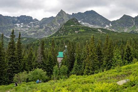 Toto je vrchol Kościelec. Říká se mu polský Matterhorn. Foto: Honza Jochec