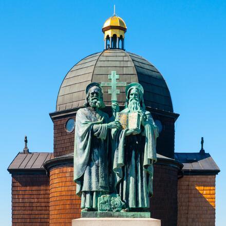 Kaple sv. Cyrila a Metoděje na Radhošti