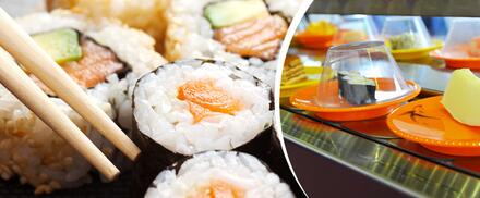 Running sushi pro 1 osobu – all you can eat
