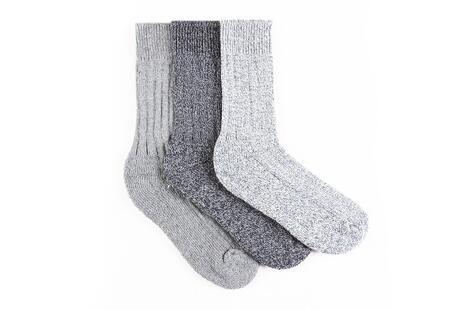 88926f80ccb Balení 3 párů hřejivých ponožek z ovčí vlny
